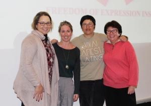 Sheniece Linderboom, Gabriella Razzano, Heather Robertson, Sophie Marsaudon